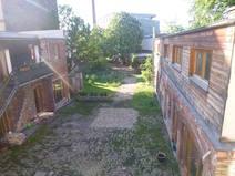 Wohnungstausch in/Germany/Berlin/backyard - garden with neighbours