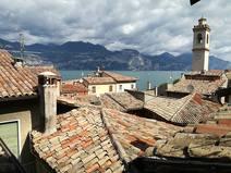Home exchange in/Italy/Brenzone sul Garda/Panorama from 3rd floor single bedroom