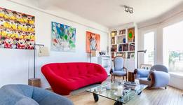 Home exchange in/France/Paris/Superbe appartement avec terrasse vue sur Paris