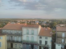 Home exchange in/France/Servian/View from our flat