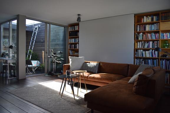 Koduvahetuse riik Holland,Amsterdam, North-holland,Patio-living on top of Oosterpark,Home Exchange Listing Image