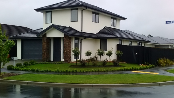 Wohnungstausch in Neuseeland,Christchurch, Canterbury,New -2 storied home on corner, quiet location,Home Exchange Listing Image