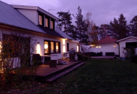 Home exchange in Sweden,Täby, Stockholm,Home with nice garden close to Stockholm,Home Exchange & House Swap Listing Image