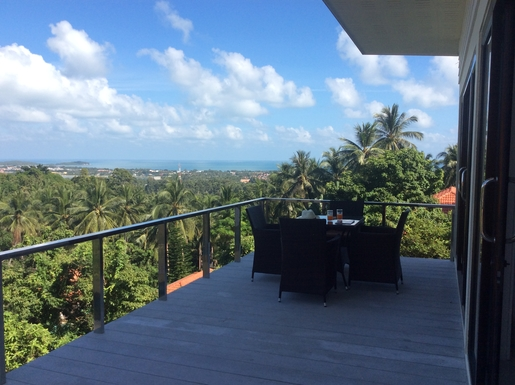 Home exchange in Thailand,Koh samui, Surathani,Villa Sea view Koh Samui Thailand,Home Exchange & Home Swap Listing Image