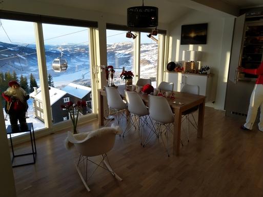 BoligBytte til Norge,ØYER, Nytt kort,Mountain condo in Hafjell Lillehammer resort,Boligbytte billeder