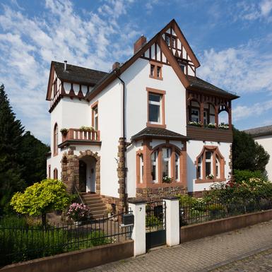 Koduvahetuse riik Saksamaa,Eltville am Rhein, Hessen,Liberty Style (Art Nouveau) Villa in Rheingau,Home Exchange Listing Image
