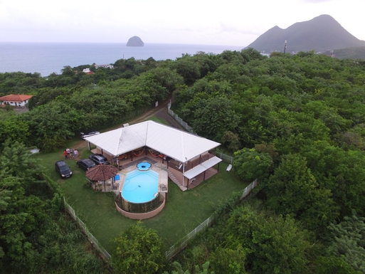 Kodinvaihdon maa Martinique,Diamant, Le Marin,Martinique - Diamant, 1km, N - House (2 floor,Home Exchange Listing Image