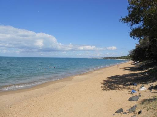 Hervey Bay beach