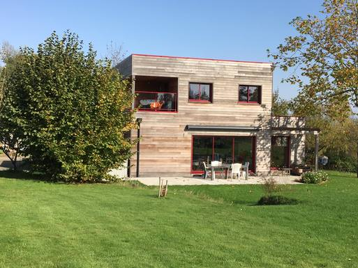 Home exchange in France,PLOUFRAGAN, 20,Recent Timber House,Home Exchange & House Swap Listing Image