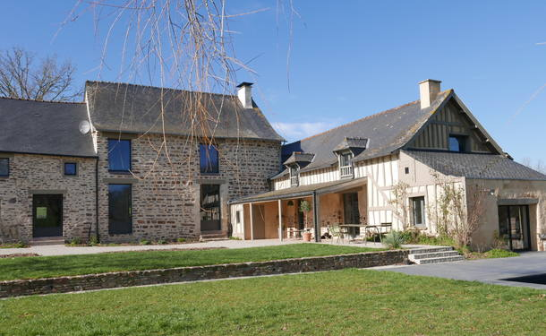 Home exchange in France,Bréal sous Montfort, France, Bretagne,Rennes, Fully renovated 17° Metairie,Home Exchange & House Swap Listing Image