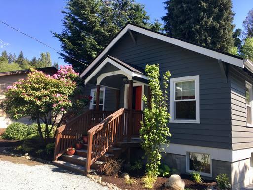 Échange de maison en États-Unis,Everett, WA,Everett cottage north of Seattle,Echange de maison, photos du bien