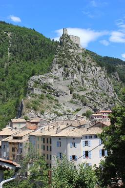 Entrevaux with citadel
