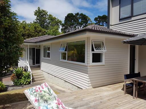 BoligBytte til New Zealand,Auckland, North Island,House in a quiet green suburb of Auckland,Boligbytte billeder