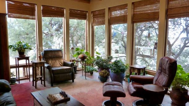 Boligbytte i  USA,santa fe, new mexico,A cozy canyon-side home.,Home Exchange & House Swap Listing Image