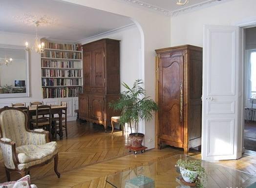 Home exchange in France,Paris, Île de France,Classic Parisian home in the Latin Quarter,Echange de maison, photo du bien