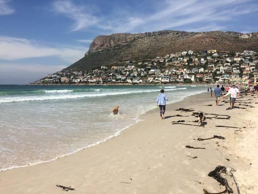 Our local beach.  Warm water & white fine sand.