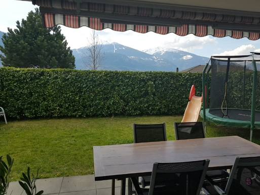 Home exchange country İsviçre,Miège, Valais,Nice family appartment in Miège Switzerland,Home Exchange Listing Image