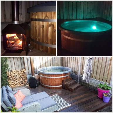 Hottub, heated or cold in summer