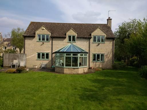 House from back garden