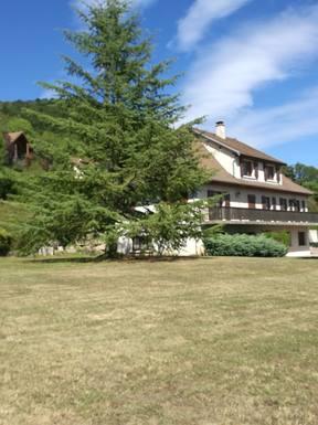 Notre maison et grand jardin