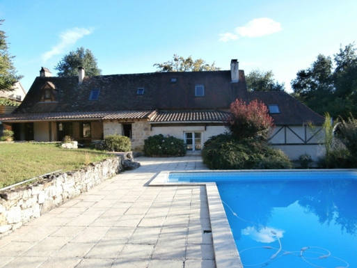 Kodinvaihdon maa Ranska,Lembras, Dordogne,Fully restored Farm House with pool,Home Exchange Listing Image
