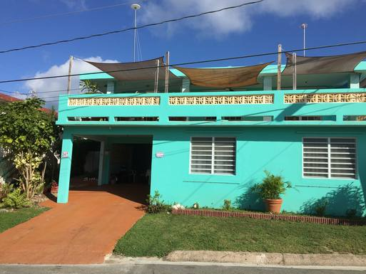 Home exchange country Puerto Rico,Vieques, Puerto Rico,Vieques, PR, Two Blocks from Caribbean Beach,Home Exchange Listing Image