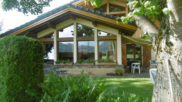 Home exchange in France,Taninges, région Auvergne Rhône Alpes,Cosy house in mountain village,Home Exchange  Holiday Listing Image