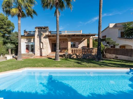 "Home exchange in Spain,Badia Blava, Palma de Mallorca,Mallorca, Villa ""Angelini"" in Mallorcan style,Home Exchange & Home Swap Listing Image"