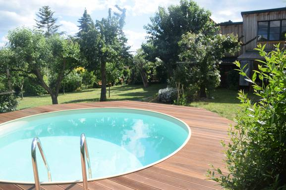 Boligbytte i  Tyskland,Erfurt, Thüringen,Germany-Erfurt - cosy house with private pool,Home Exchange & House Swap Listing Image
