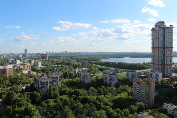 Bostadsbyte i Ryssland,Moscow, Moscow,Beautiful apartment on the 22nd flour,Home Exchange Listing Image