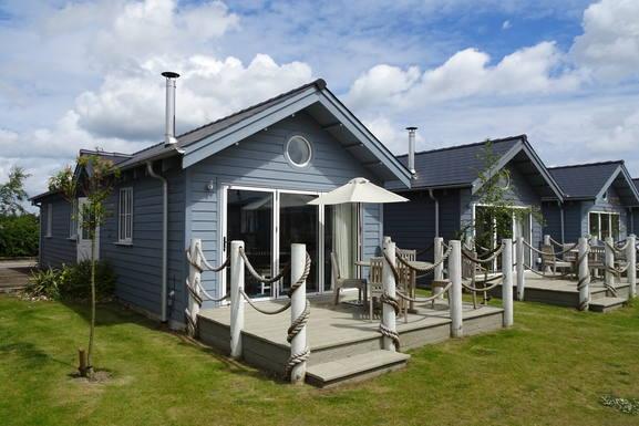 Puffin Lodge at The Bay holiday village.