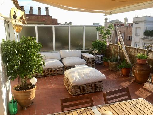 Home exchange country İspanya,Barcelona, Barcelona,Sunny and quiet atic, central Barcelona,Home Exchange Listing Image