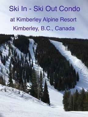Home exchange in Canada,Kimberley, British Columbia,Condo on a Ski Hill,Home Exchange & Home Swap Listing Image