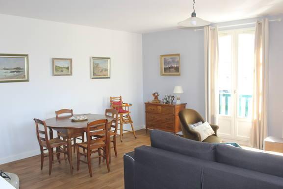 Koduvahetuse riik Prantsusmaa,Saint-Malo, Bretagne,Petit Bé appartment,Home Exchange Listing Image