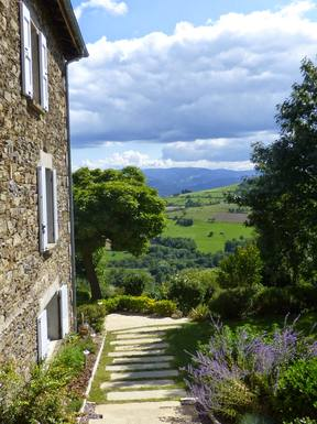 Wohnungstausch in Frankreich,Chabaniere, auvergne rhône alpes,Charming country house with astonishing view,Home Exchange Listing Image