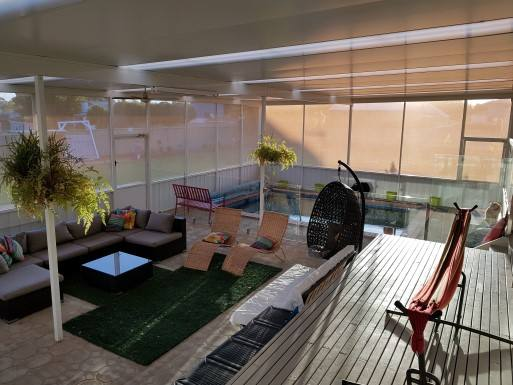 Home exchange in Australia,Echuca, Victoria,Australia -Swimming Pool, Bush Views & River,Home Exchange  Holiday Listing Image