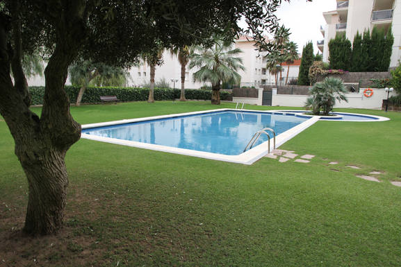Boligbytte i  Spania,Sitges, Barcelona,Sitges Family apartment swimmingpool /garden,Home Exchange & House Swap Listing Image