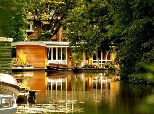 Boligbytte i  Nederland,Leiden, Zuid-Holland,Amsterdam 35KM Luxury Houseboat Sea & Culture,Home Exchange & House Swap Listing Image