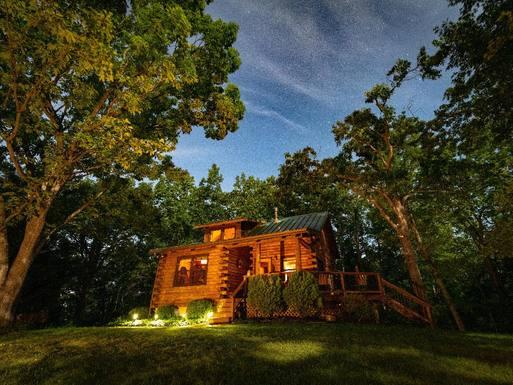 Home exchange in United States,Lyndhurst, Virginia,Log Home in VA,Home Exchange & Home Swap Listing Image
