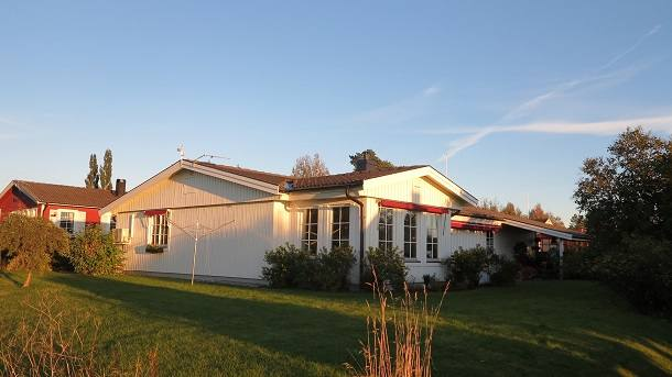 Kodinvaihdon maa Ruotsi,Alnö, Sundsvall,2 houses in the northern lights midnight sun,Home Exchange Listing Image