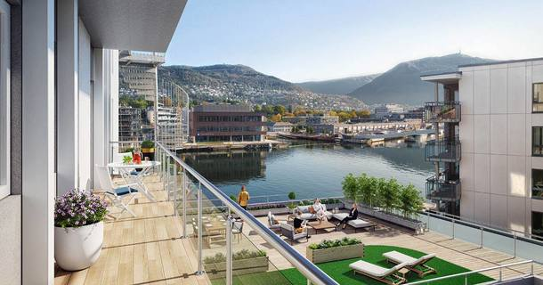 Boligbytte i  Norge,Bergen, Vestland,Modern flat at sea near Bergen City center,Home Exchange & House Swap Listing Image