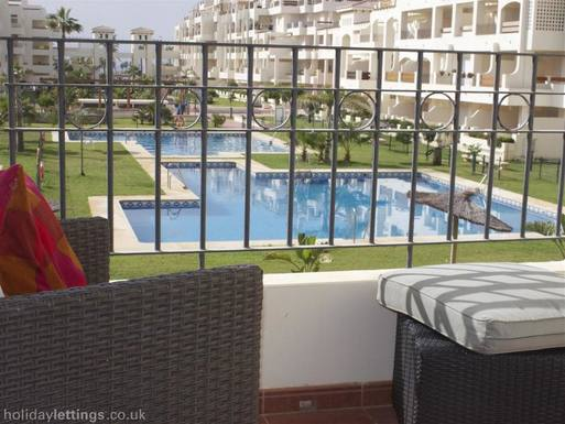 Huizenruil in  Spanje,ROQUETAS DE MAR, ANDALUSIA,LUJOSO PISO FRENTE AL MAR Y JUNTO AL GOLF,Home Exchange Listing Image