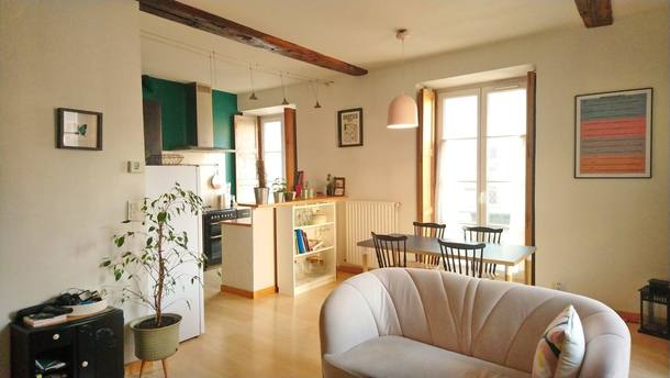 Home exchange country Prantsusmaa,Nantes, Loire Atlantique,Cute flat, Nantes downtown, South Brittany,Home Exchange Listing Image