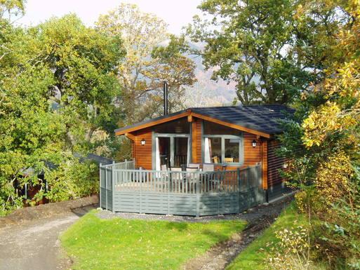 Huizenruil in  Verenigd Koninkrijk,Stirling, Stirlingshire,Luxury Holiday Cabin in the Trossachs,Huizenruil foto advertentie