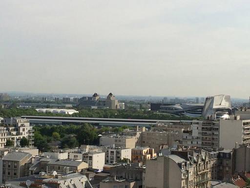 Kodinvaihdon maa Ranska,PARIS, FRANCE,PARIS 19th, Iuminous, peaceful, open view,Home Exchange Listing Image