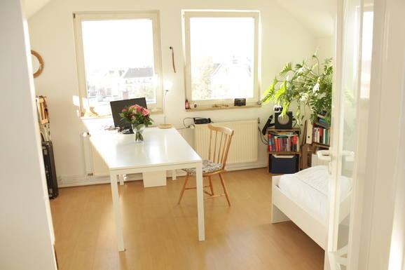 Échange de maison en Allemagne,Berlin - Neukölln, Deutschland,Sunny, 2-rooms, roof top-apartment in Berlin,Echange de maison, photos du bien