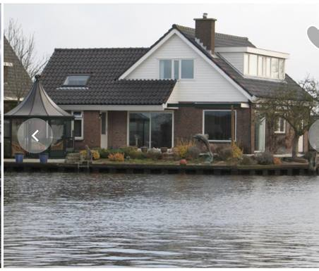 Kodinvaihdon maa Alankomaat,Alphen aan den Rijn, zuid holland,detached house on the water side,Home Exchange Listing Image