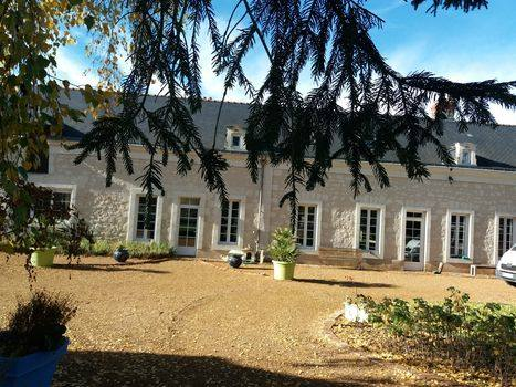 Kodinvaihdon maa Ranska,VERNANTES, anjou,large family house of the XIX century,Home Exchange Listing Image
