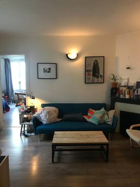 Home exchange in France,Paris, Île-de-France,Lovely one bedroom appartement in Paris,Home Exchange & Home Swap Listing Image