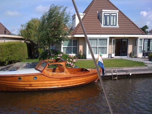 BoligBytte til Holland,Woudsend, Friesland,A villa in a watersport and cycling arena in,Boligbytte billeder
